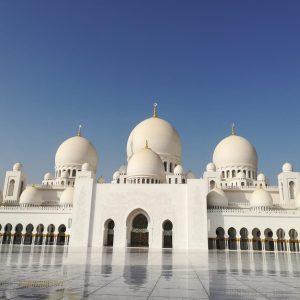 Abu Dhabi Scheich Zayid Moschee front 300x300 - VAE & OMAN MIT RUBBA KREUZFAHRT