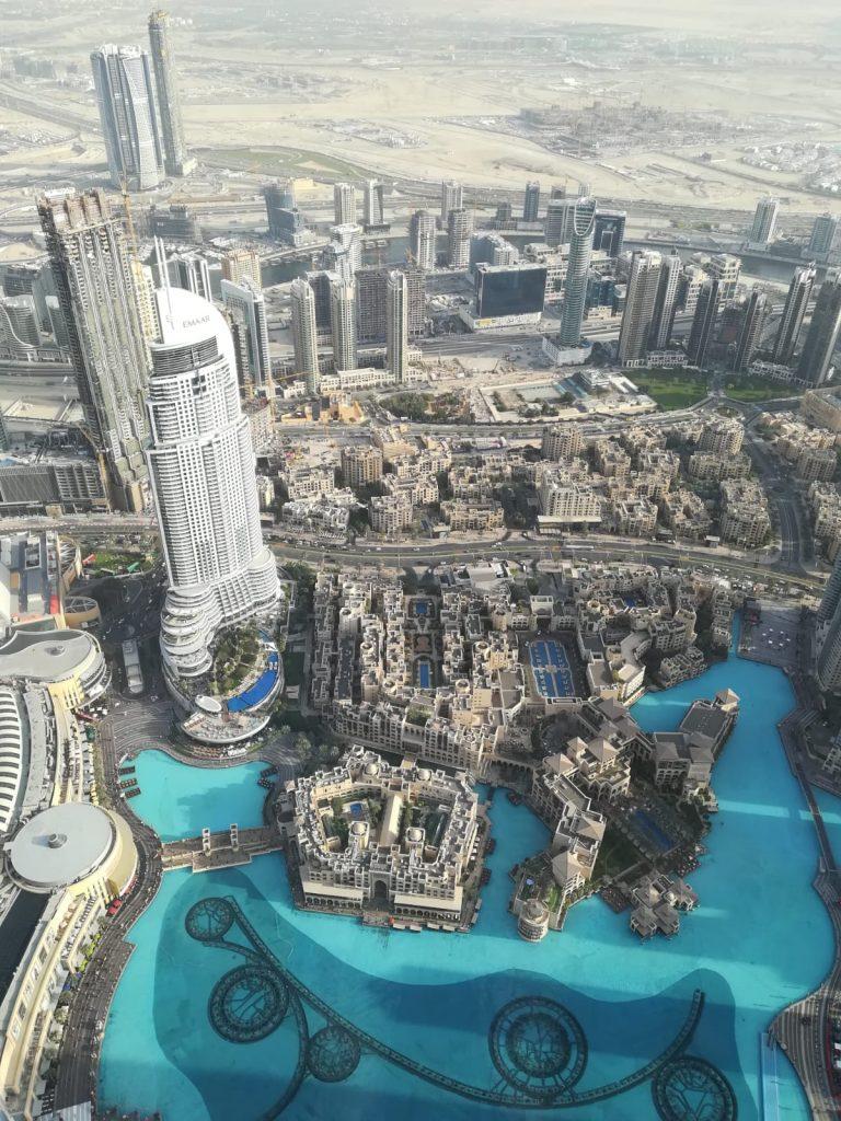 Dubai_Aussicht Burj Khalifa 1