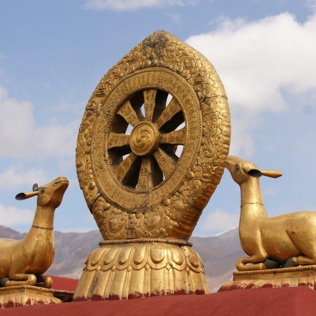 Das tibetische Tempeldach 630x630 - Tibet - das Dach der Welt mit Vor- und Nachprogramm in Peking, Chengdu und Kathmandu