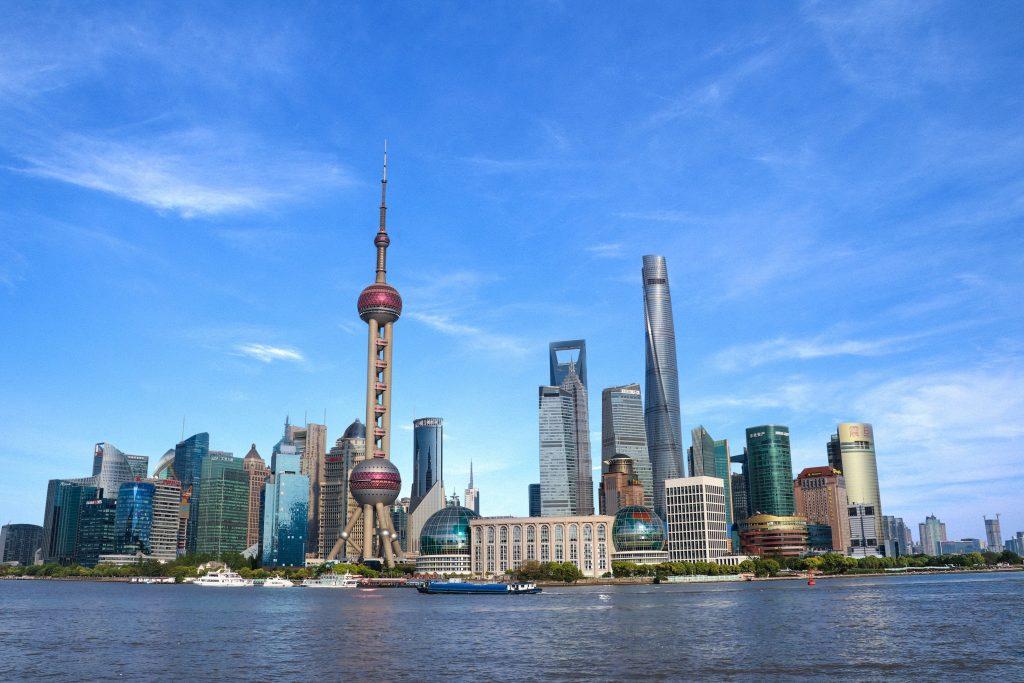 Lujiazui, Huangpu River & The Orient Pearl V Tower